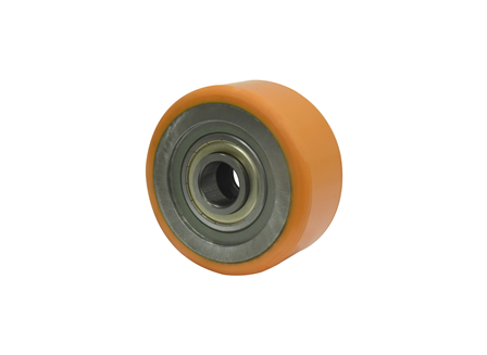 Load Wheel Assembly w/Shoulder Bearings, 6x2.88x3.149
