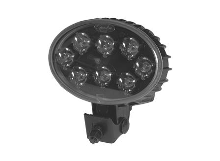 Work Light, LED, 12 V - 48 V, Horizontal Mount