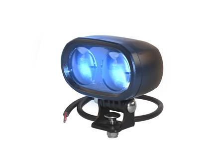 Spot Light, LED, Blue, 12 V- 80 V