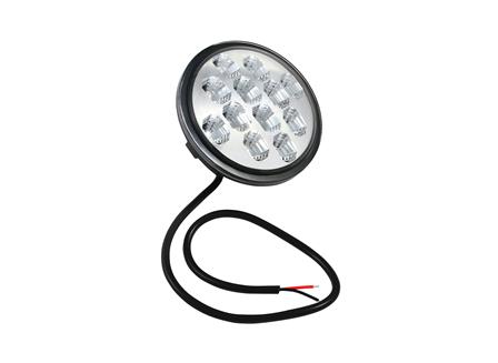 Sealed Beam (102 mm/4 in) Diameter Bulb, 12-24 V