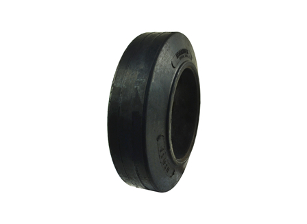 Tire, Rubber, 14x4.5x8, Smooth