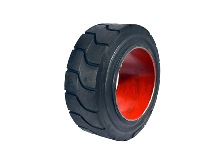 Tire, Rubber, 13.5x5.5x8, Traction, Non-Marking Dark Grey