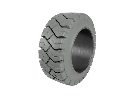 Tire, Rubber, 13.5x5.5x8, Traction, Non-Marking Grey