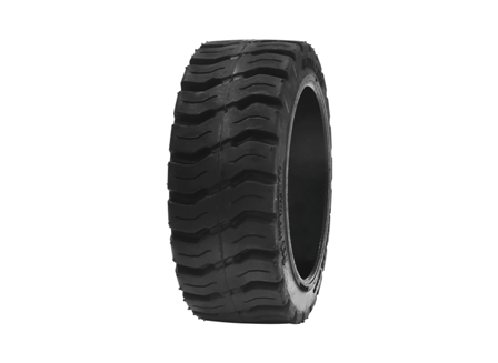 Tire, Rubber, 12x4.5x8, Traction