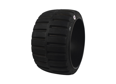 Tire, Rubber, 22x12x16, Traction