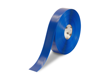 Floor Tape, Solid, 100 ft. Roll, 2 in., Blue