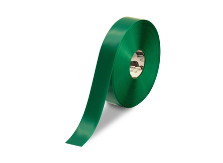 Floor Tape, Solid, 100 ft. Roll, 2 in., Green