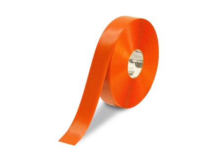 Floor Tape, Solid, 100 ft. Roll, 2 in., Orange