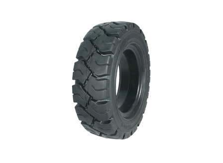 Tire, Solid Resilient, 15 x 4.5-8