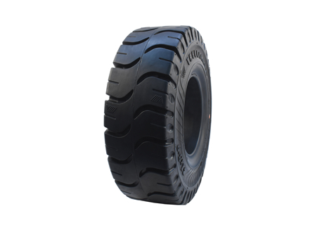 Tire, Solid Resilient, 21 x 8-9, Compound: 482, Black