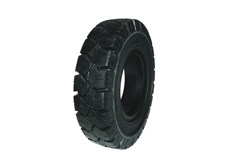 Tire, Solid Resilient, 7.00 x 12, Compound: 480, Black