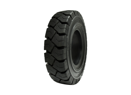 Tire, Solid Resilient, 8.25 x 15