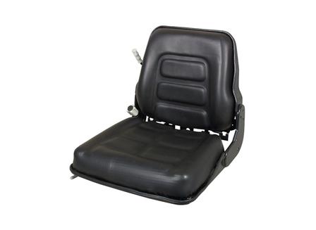 Forklift Seat, Straight Back, Backrest Suspension, Vinyl