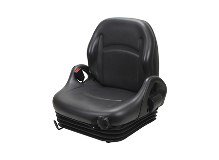 Forklift Seat, Adjustable Back, Retractable Seat Belt, Electric Switch
