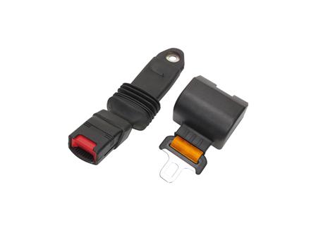 Seat Belt, 60 in., Orange, Retractable, Anti-Cinch