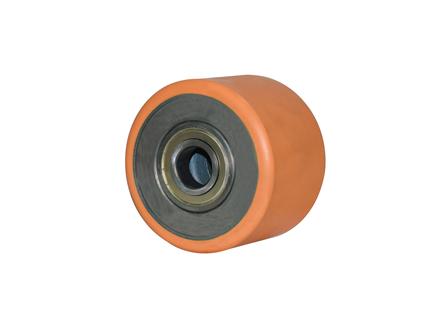 Load Wheel Assembly w/Shoulder Bearings, 6x4.25x3.149