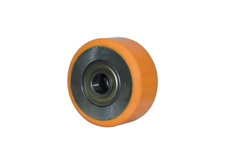 Load Wheel Assembly w/Shoulder Bearings, 6x2.75x3.14