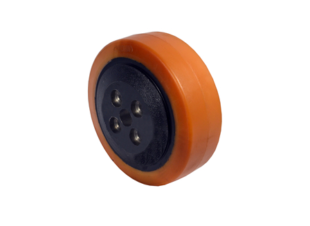 Polyurethane Drive Tire, 10x3.35, Smooth