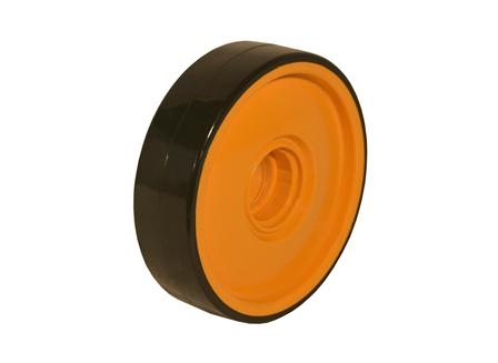 Polyurethane Wheel, 7.09x1.97x1.85