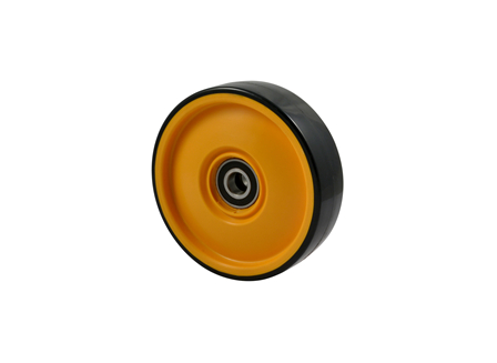 Polyurethane Wheel Assembly, 7.09x1.97x1.85, Compound 101